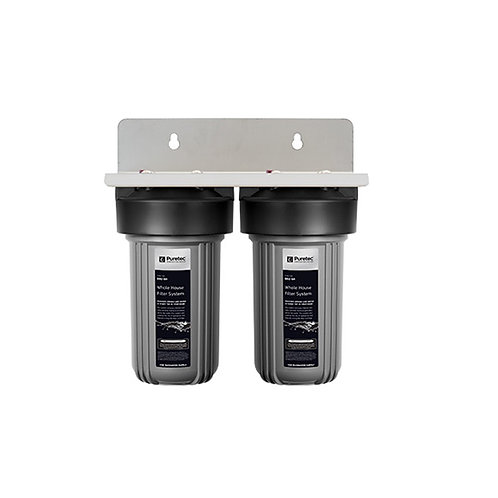 Puretec EM2-60 Whole House Dual Water Filtration System