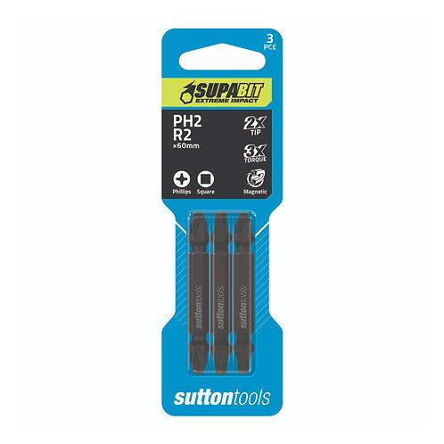 Sutton Tools Phillips & Square Recess Supabit