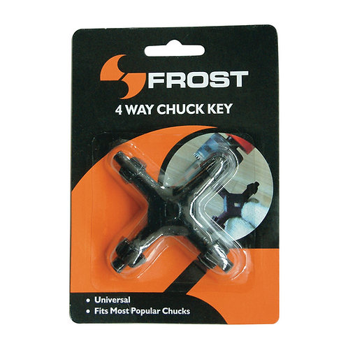 Frost 4-Way Drill Chuck Key