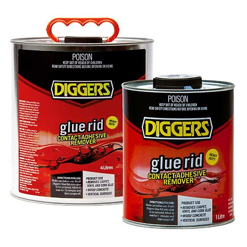 Diggers Glue Rid