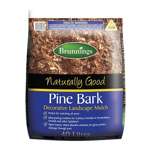 Brunnings Pine Bark Mulch 40L
