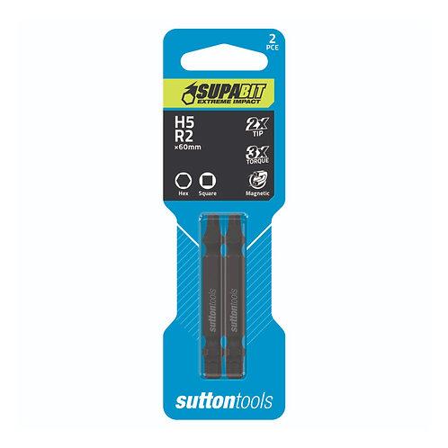 Sutton Tools Hex & Square Recess Supabit