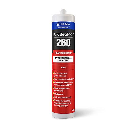 H.B. Fuller FulaSeal Pro 260 Heat Resistant RTV Silicone 300g