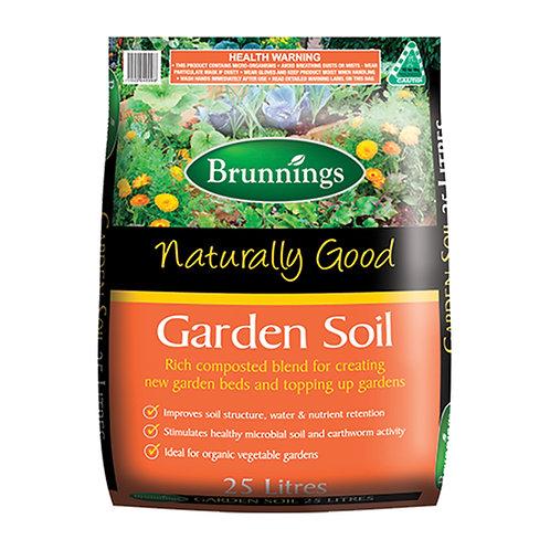 Brunnings Garden Soil 25L