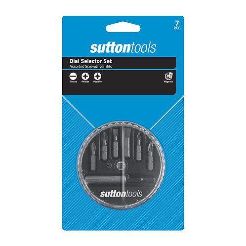 Sutton Tools Screwdriver Dial Selector Assorted Set