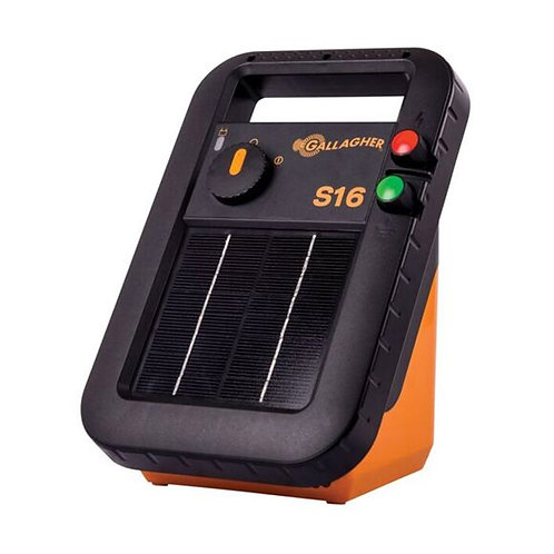 Gallagher S16 Portable Solar Fence Energizer