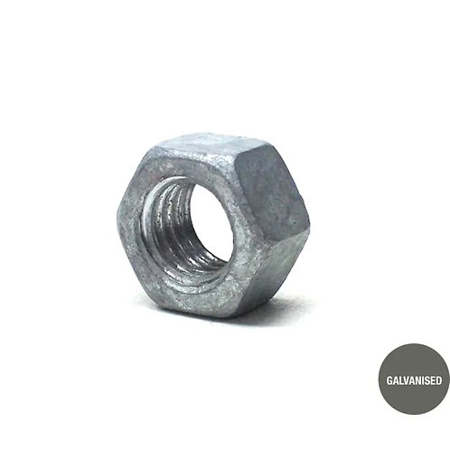 Galvanised Hex Nut