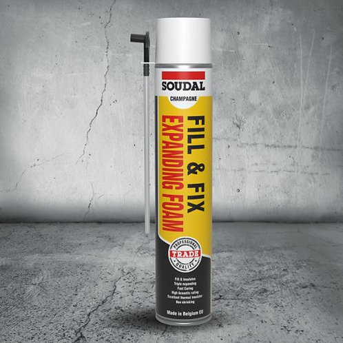 Soudal Fill & Fix Expanding Foam 750mL