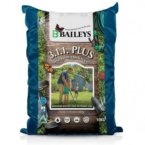 Baileys 3.1.1. Plus Waterwise Lawn Food 10kg