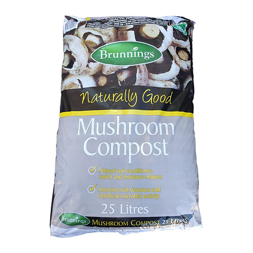 Brunnings Mushroom Compost 25L