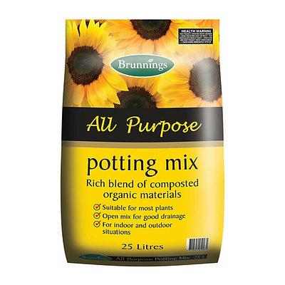 Brunnings All Purpose Potting Mix 25L