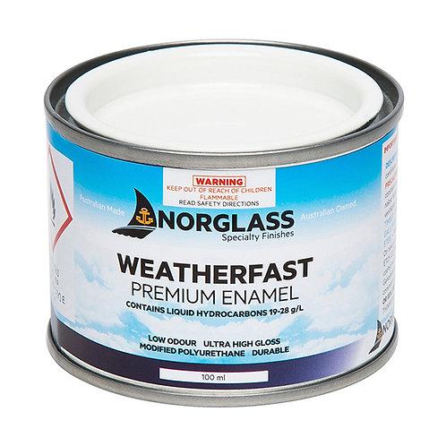 Norglass Weatherfast Premium Enamel Gloss 100mL