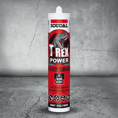 Soudal T-Rex Power Fast Grab Adhesive 290mL