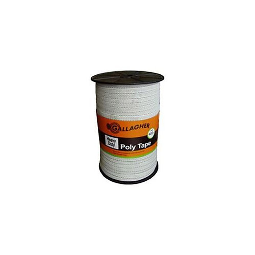 Gallagher Heavy Duty Poly Tape 12.5mm 400m