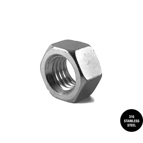 316 Stainless Steel Hex Nut
