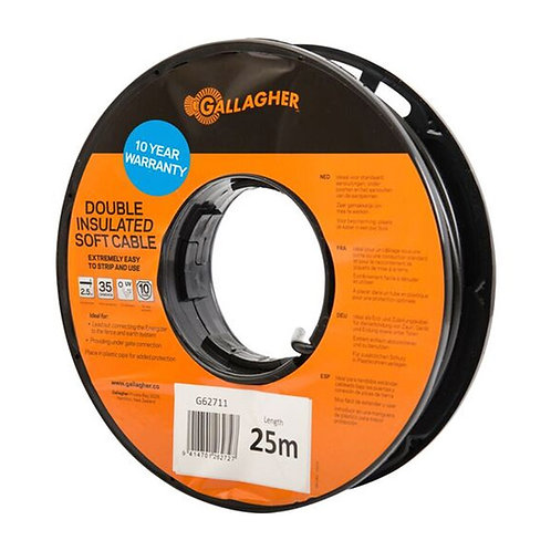 Gallagher Double Insulated 2.5mm Soft Cable