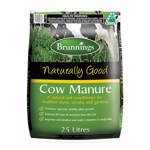 Brunnings Cow Manure 25L
