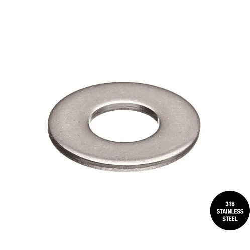 316 Stainless Steel Heavy Duty Flat Washer
