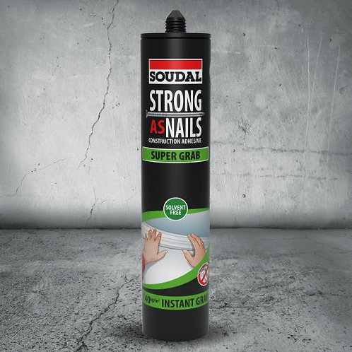 Soudal Strong As Nails Adhesive Super Grab 350g