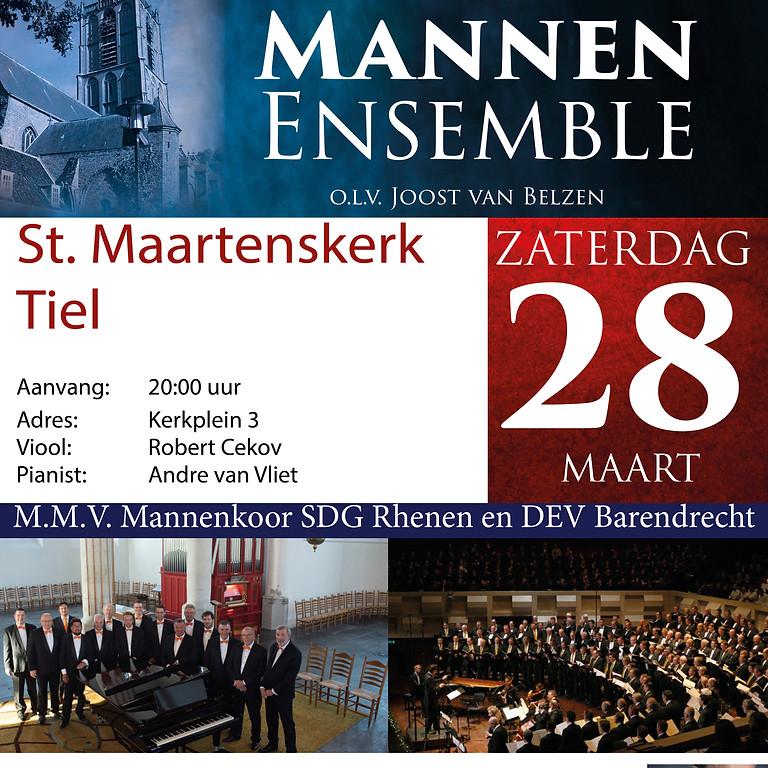 Passie-Paasconcert   Hollands Mannen Ensemble en Mannenkoren