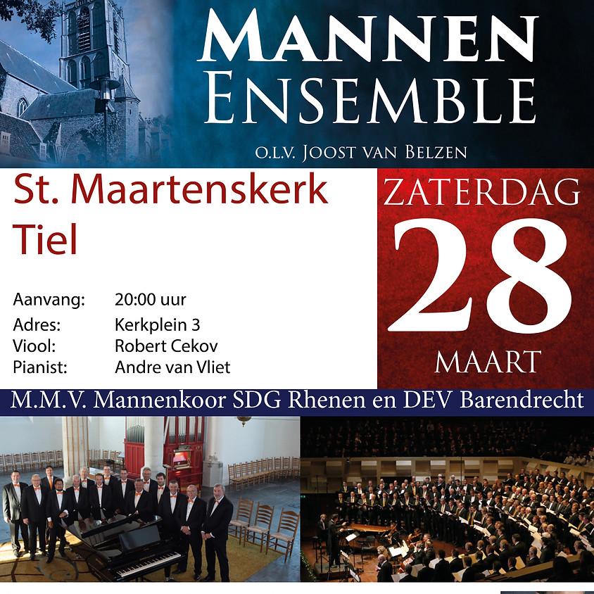 Passie-Paasconcert | Hollands Mannen Ensemble en Mannenkoren