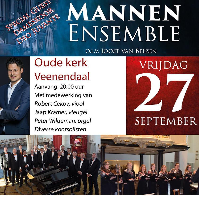 Hollands Mannen Ensemble   27 september 2019 Veenendaal