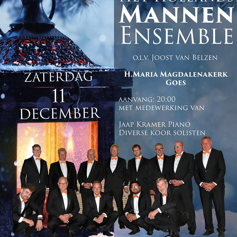 11 december Kerstconcert Hollands Mannen Ensemble