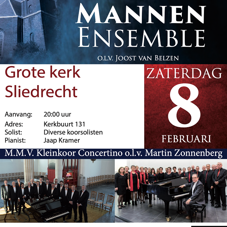 Concert | Hollands Mannen Ensemble & Concertino