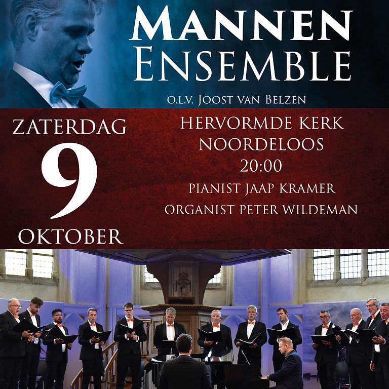9 oktober Hollands Mannen Ensemble in concert