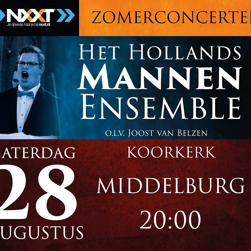28 augustus Zomerconcert Middelburg 20:00 - 21:30