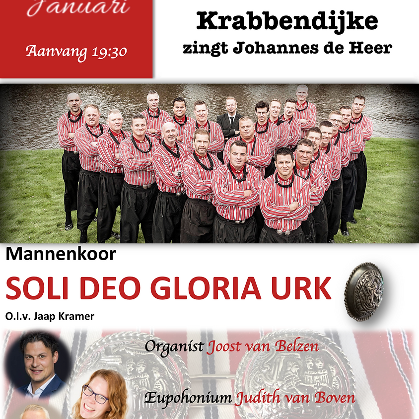 Nieuwjaarsconcert in Krabbendijke met Soli Deo Gloria