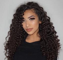curly makeup