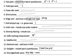 How to fill out an inspection checklist