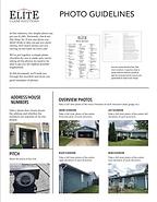 Elite Claim Solutions Photo Guidelines Checklist