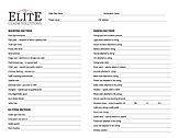 Elite Claim Solutions Roofing, Siding, and Gutters Inspection Checklist