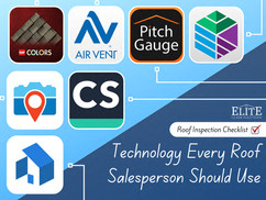 Roof Inspection Checklist: Technology Every Roof Salesperson Should Use
