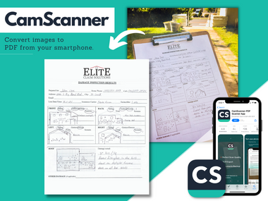 CamScanner: Roofing Technology in Your Pocket