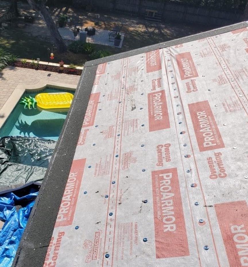 Starter Shingles Installation photo for roofing supplement