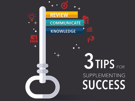 3 Elite Tips for Supplementing Success