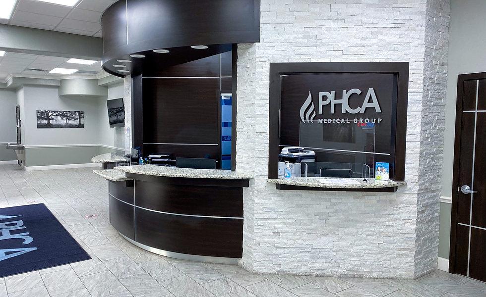PHCA Office Banner