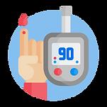Diabetes check icon