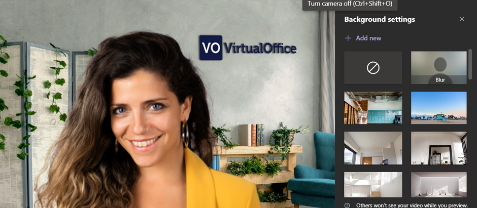 How to use Virtual Backgrounds in Microsoft Teams - Virtual Office