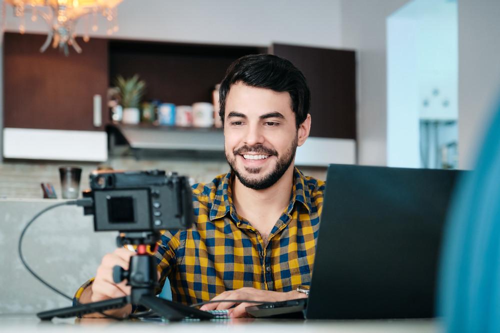 Video meeting interview