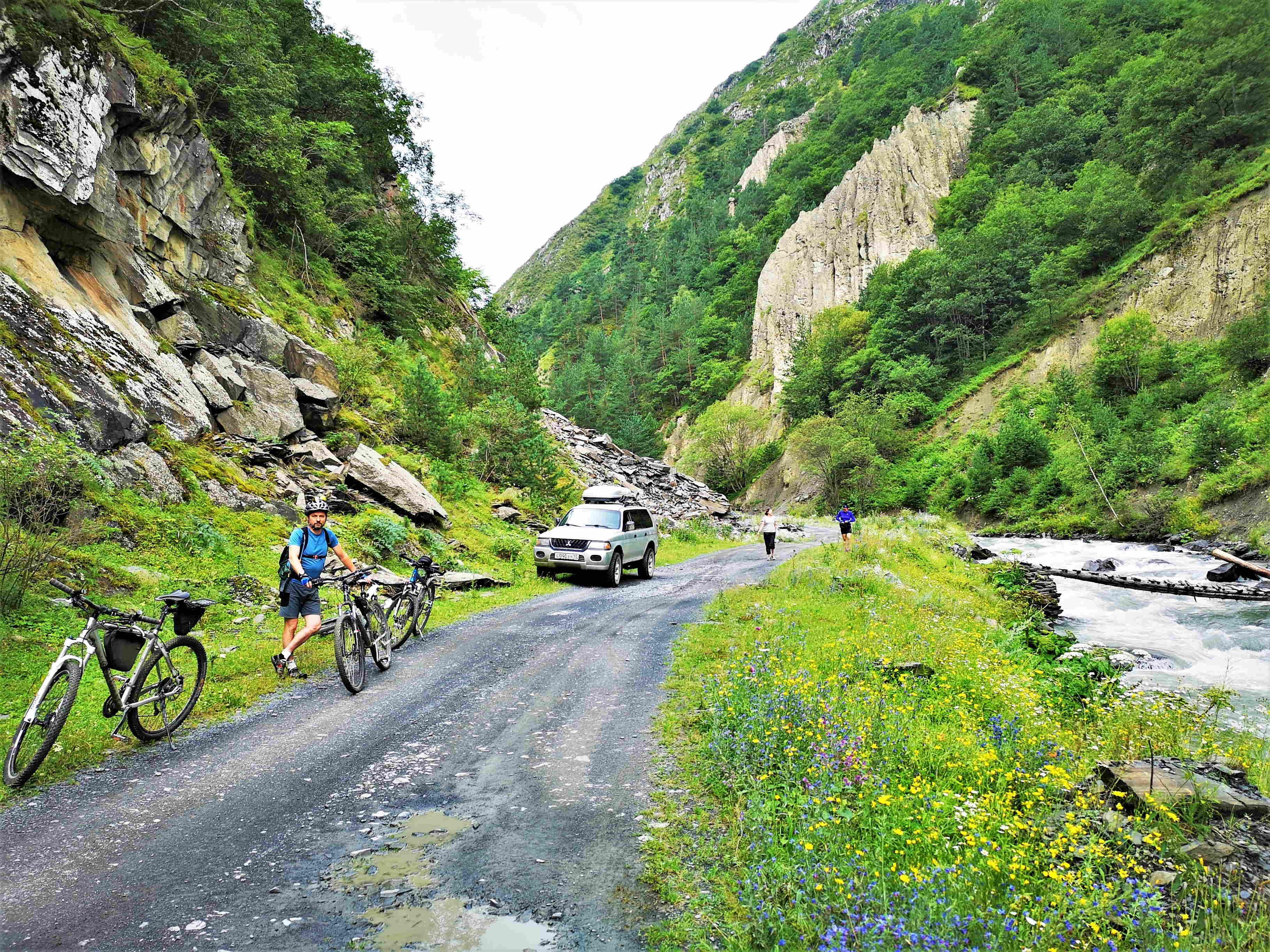 Хевсурети, Аргунское ущелье - идеальное место для велопокатушек, если сможете добраться.