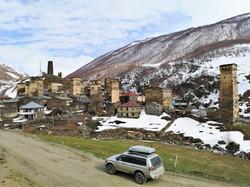 Самое высокогорное селение Европы - Ушгули, входит в список культурного наследия ЮНЕСКО.