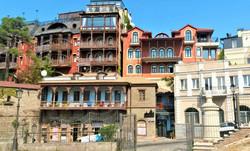 Немного старого уютного Тбилиси, после приключений, всегда приятно