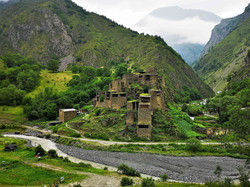 Хевсурети, легендарный город-крепость Шатили