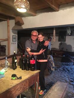 Встреча с потомственным виноделом Бежаном Кипиани
