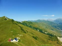 Горный монастырь Ломиси, высота 2200 метров.
