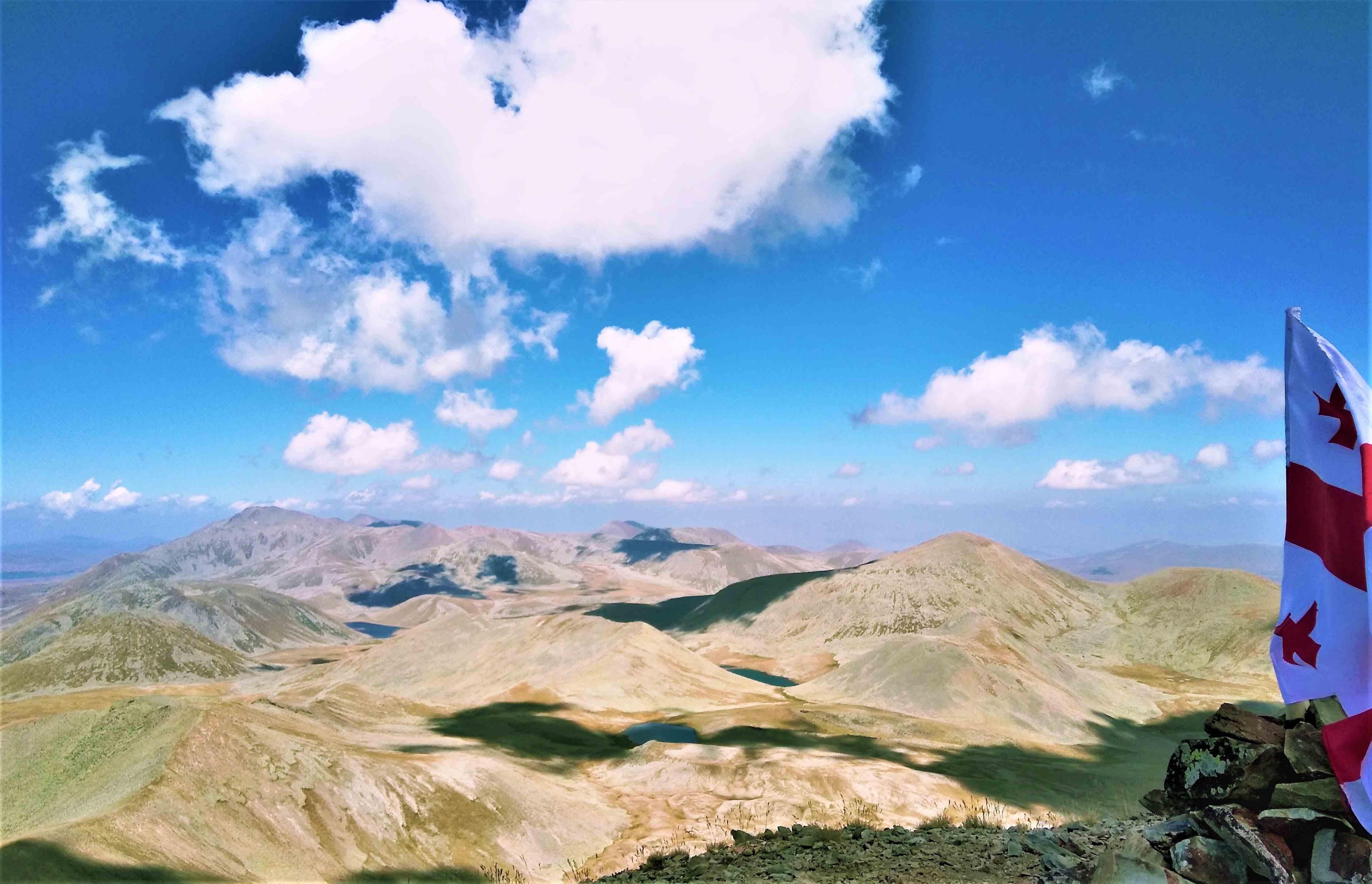Потухшие вулканы в Джвахети